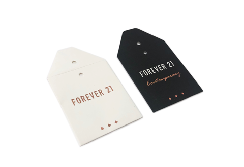 Forever 21 Contemporary Button Envelope