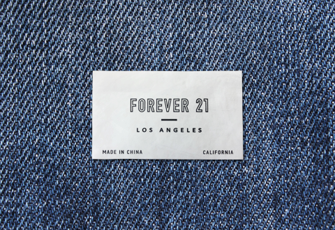 Forever 21 New Texture Label